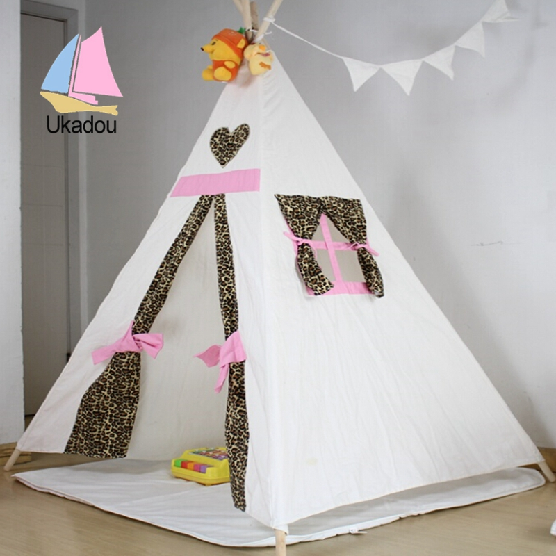 teepee & High quality cute kids teepee tent with canvas material u2013 kids ...