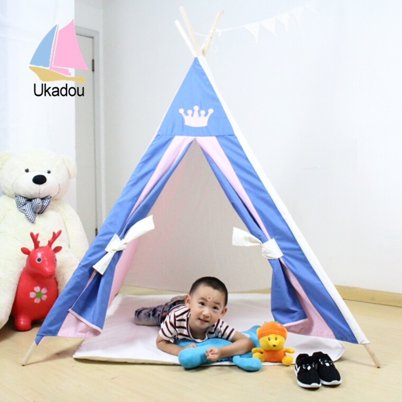 teepee  sc 1 st  kids play tent teepee tent tipi tent tepee tent factory china & multi-function indoor toy teepee with kids tent house u2013 kids play ...