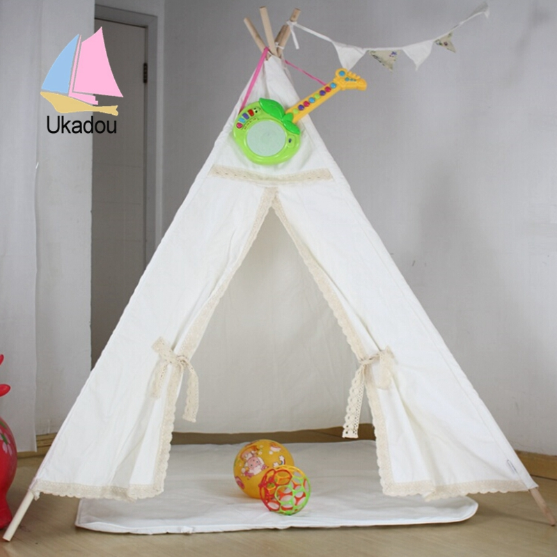 teepee & Indian Kids Teepee Tents Indoor Childrenu0027s Play Camping Tent ...