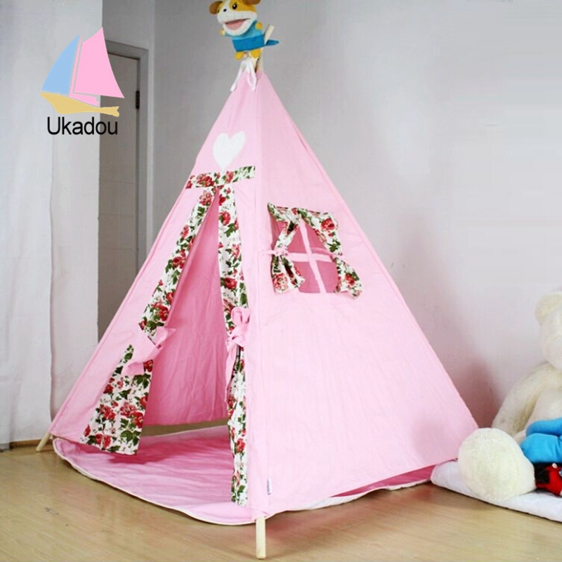 how to make an indoor teepee for kids